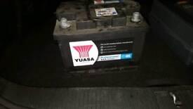 60 AH car battery.