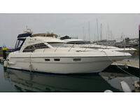 Sealine F43 Aft Cabin Motor Cruiser / Boat 6/8 berth. 2 owners from new