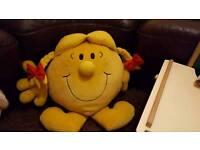 Little miss sunshine (heavy) cushion Excellent condition!
