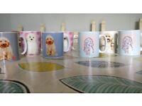 Cockapoo Assorted mugs x 7