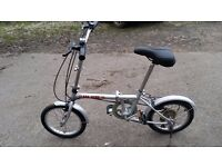 BSA SURE folding BIKE