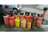 GAS CANISTERS LARGE AMOUNT (FOR FREE)