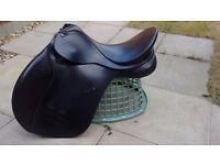 Bates caprilli leather GP saddle