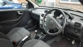 2005 Vauxhall corsa SRI 1.4 16V twinport