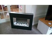 Dimplex svl20 wall mounted fire place
