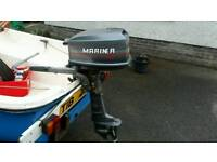 13 foot boat and engine plus trailer
