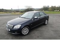 Mercedes C Class 220 Elegance, diesel in excellent condition. Factory fitted extras. Low Miles