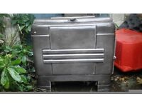 Small side loader woodburner