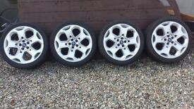 Ford Ronal 18 inch Alloy Wheels