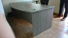 Large Office Desk with Office Chair and Drawers