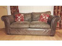 Free Laura Ashley leather sofa