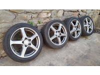 Alloys and tyres HONDA, MERCEDESE, BMW, TOYOTA......etc