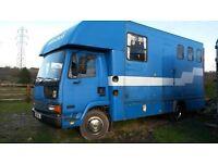 Horsebox 7.5t Leyland Daf - Non Runner