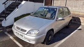Citroen Saxo -Clean with Low mileage and extremely zippy performance