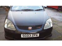 Honda civic type r 03 px/swap