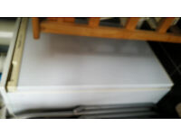 Hotpoint freestanding small fridge