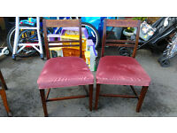 beautiful pair of antique chairs shabby chic