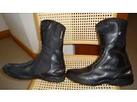 RST Motorbike Boots size 12 - never worn