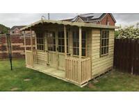 10x8 summer house
