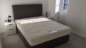 Modern master bedroom with en-suite in Richmond in friendly flatshare