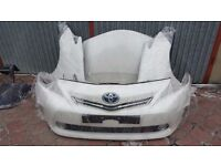 Single Unit Car part : Front end for toyota Prius 3rd Generation Facelift 2012 - 2015