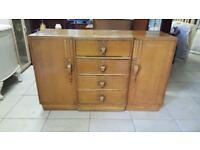 Art Deco Buffet Serving Cabinet / Sideboard