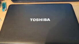 TOSHIBA C850 DUAL CORE 6 GIG DDR3,1.8GHZ, 500HDD, 64BIT WIN10, REFURB, QUICK , OFFICE, CHEAP