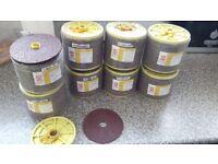 400 FIBER SANDING DISC FIBER DISC FOR METAL