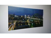 Large Wall Mounted Print of Newcastle upon Tyne / Tyne Bridge - £15