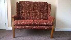 Settee and chairs for sale