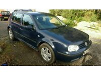 VW GOLF 1.9Tdi (Diesel) 90K Miles extremely reliable, new tyres