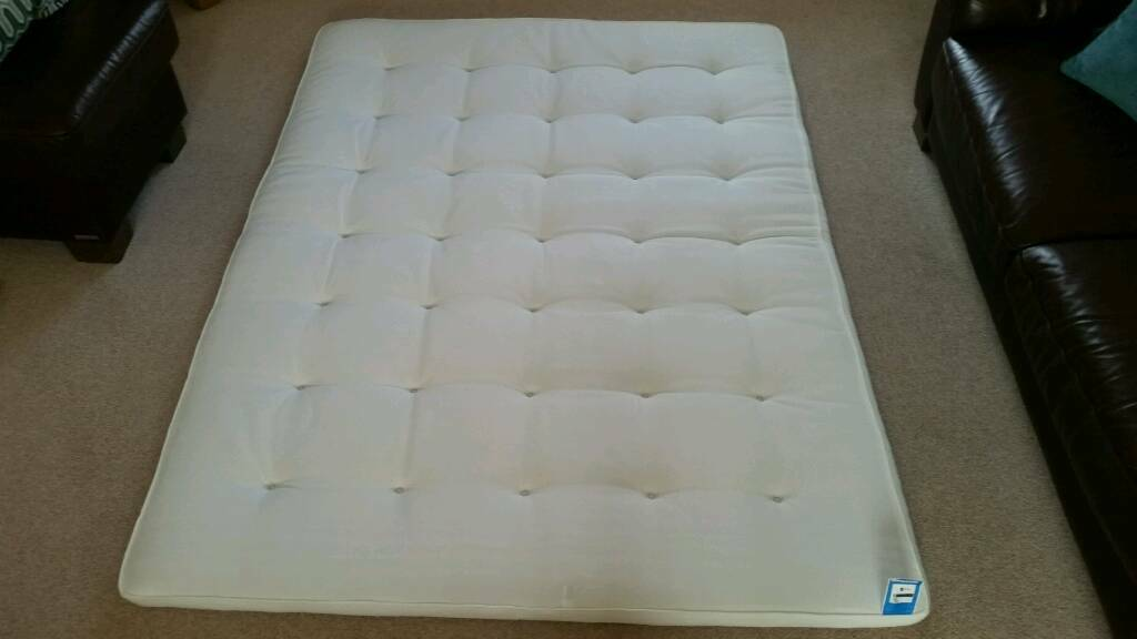 Ikea Tustna Latex Wool King Mattress Topper