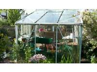 Greenhouse approx. 7 x 6 ft