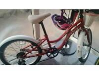 "Apollo Ivory Girls Bike 20"""