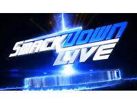 2 x WWE Smackdown TV Live Tickets- 08.11.16 - Wrestling -Hydro Arena , Glasgow