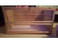 Pet cage suitable for guinea pig or hamsters