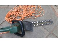 Electric hedge trimmer. Black and Decker