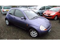 Ford KA 1.3 Style Climate 3dr, LONG MOT, HPI CLEAR, GOOD CONDITION, DRIVES SMOOTH, P/X WELCOME