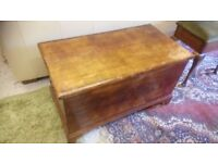 Vintage mahogany bedding box..£45..CHEAP local DELIVERY Stalybridge SK15 2QF