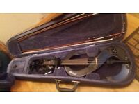 Stagg Electric Violin (S-body shape) no chin res