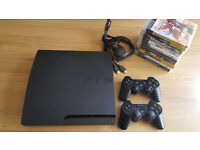 160GB PS3 with 13 Games & 2 Controllers. Unboxed. Great condition.