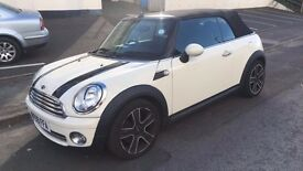Mini Cooper Convertible, 1.6L, Chilli Pack, MOT Oct 2017