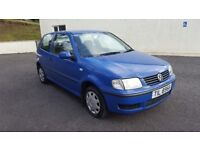 **1.0 VW POLO....ONLY 59K MILES....GREAT 1ST CAR**
