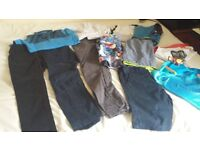 Bundle boys clothes 9-10 years