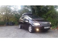 CHRYSLER GRAND VOYAGER 7 SEATER MPV 12 MONTHS MOT FULL SERVICE HISTORY STOW AND GO BLACK