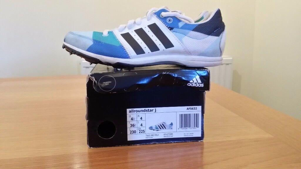 Adidas allroundstar Junior Running Spikes