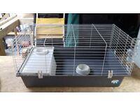 rabbit guinea pig indoor cage