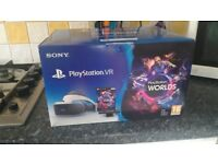Sony Playstation VR Worlds bundle (unopened) - Headset + camera + game