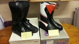 motorcycle boots size 11-brand new choice of 2 pair