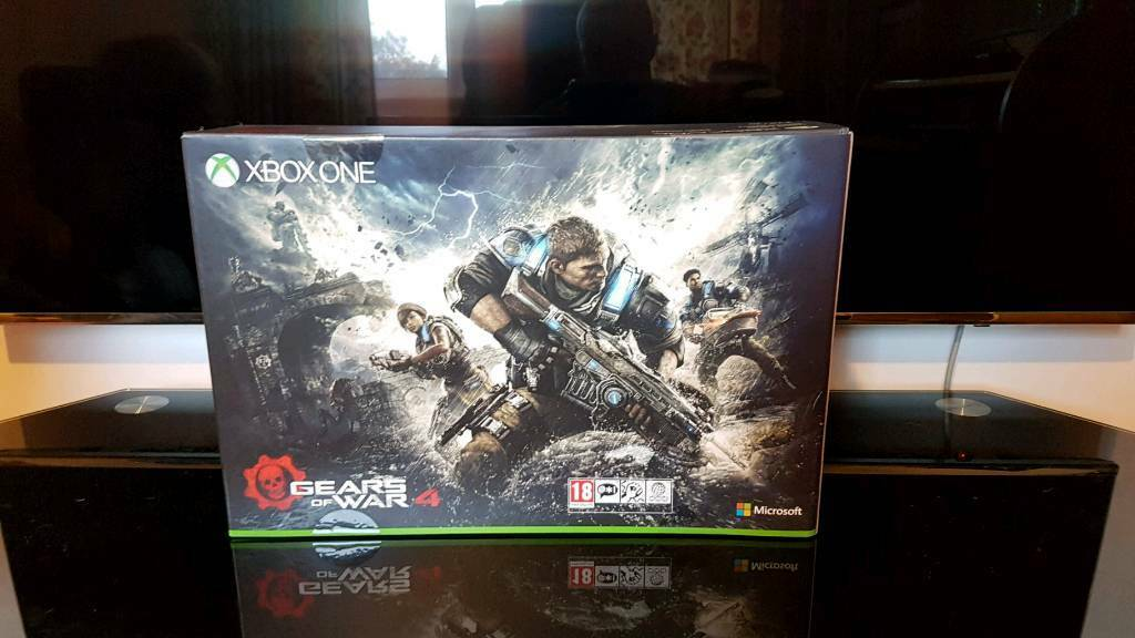 Gears of war 4 2TB xbox one limited edition console